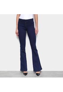 Calça Jeans Biotipo Flare Cintura Média Feminina - Feminino