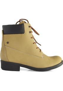 Bota Yellow Boot Cravo E Canela - Feminino-Areia