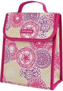 Bolsa Térmica Jacki Design De Poliéster + Folha De Alumínio - Feminino-Pink