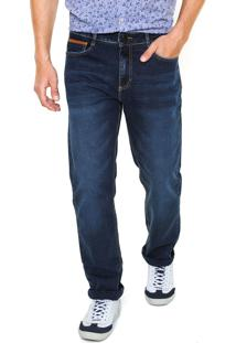 Calça Jeans Hering Slim Lisa Azul