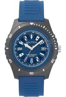 6c782dfcab9 ... Relógio Nautica Masculino Borracha Azul - Napibz008 Vivara