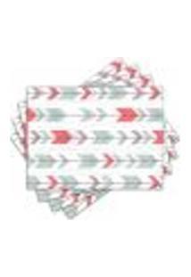 Jogo Americano - Flechas Com 4 Peças - 713Jo