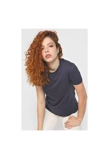 Blusa Calvin Klein Jeans Essentials Azul-Marinho