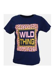 T-Shirt Wild Thing Azul Marinho