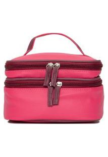 Necessaire Unissex Térmica Perfect Case - Rosa