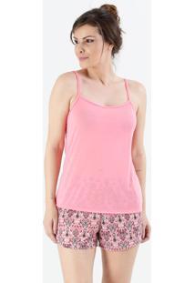 Pijama Feminino Short Doll Estampado Marisa