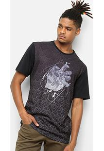 Camiseta Mcd Especial Skull Hand Masculina - Masculino