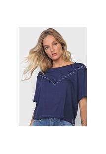 Camiseta Lança Perfume Logo Azul-Marinho
