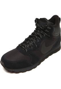 Tênis Nike Sportswear Md Runner 2 Mid Premium Preto