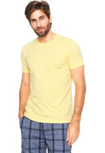 Camiseta Malwee Tradicional Amarela