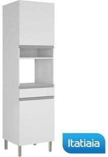 Módulo Cozinha Paneleiro Clarice Profundo Forno - Iplpfno-60 - Branco - Aço - Itatiaia