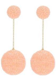 Brinco Le Diamond Bubble Feminino - Feminino-Rosa