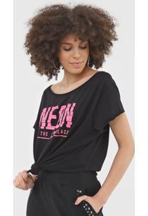 Camiseta My Favorite Thing(S) Neon Preta - Kanui