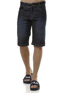 Bermuda Jeans Masculina Elétron - Masculino-Azul