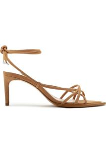 Sandália Strings Lace-Up 944 Honey | Schutz