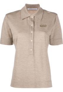 Agnona Camisa Polo De Cashmere - Neutro