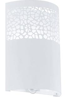 Arandela Carmelia Branco Aço 1E27 91416V Newline