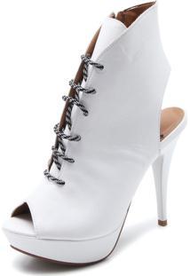 Ankle Boot Vizzano Lisa Branco