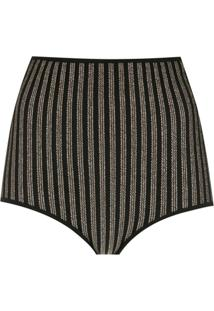 Nk Hot Pants De Tricô - Preto