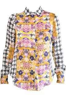 Camisa Cetim Cz Brand Estampa Exclusiva
