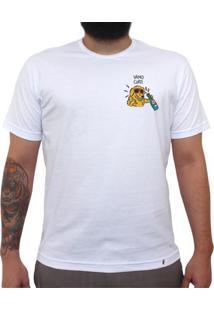 Vamo Curti - Camiseta Clássica Masculina