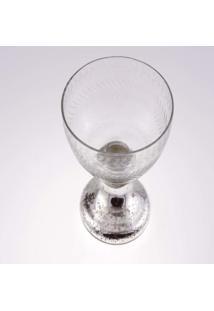 Taca- Pashmina- Vidro- Transparente