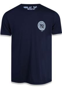 Camiseta New Era Regular New York Yankees Marinho