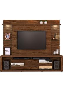 "Estante Home Para Tv Até 55"" Ravello Rústico Malbec"