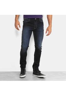 Calça Jeans Skinny Colcci Felipe Escura Masculina - Masculino