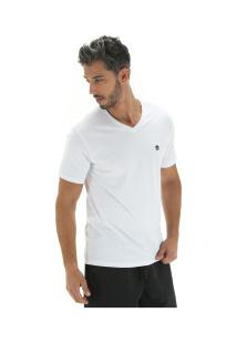 Camiseta Timberland Dunstan River V Neck Tee - Masculina - Branco