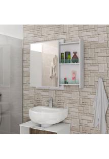 Armário Para Banheiro Napoli Branco