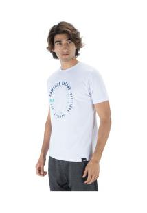 Camiseta Hd Estampada Swirl - Masculina - Branco
