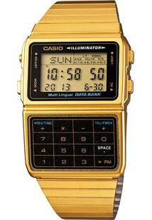 Relógio Casio Vintage Dbc-32D-1A - Feminino-Dourado