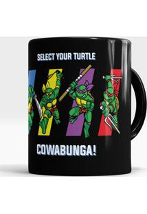 Caneca Select Your Turtle
