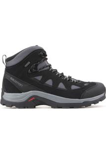 Bota Salomon Masculino Authentic Ltr Gtx® Cinza/Preto 40