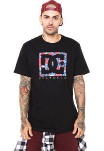 Camiseta Dc Shoes Psyco Preta