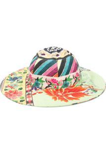 Etro Chapéu Com Estampa Floral - Verde