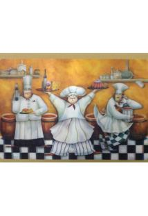 Jogo Americano 3D Cozinheiros 43X29 Cm 309