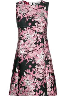 Dolce & Gabbana Vestido Floral - Rosa