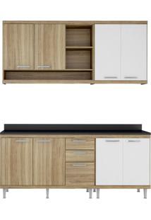 Cozinha Compacta Carlos Ii 8 Pt 3 Gv Argila