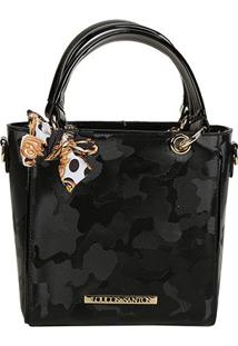 Bolsa Loucos E Santos Mini Bag Army Feminina - Feminino-Preto