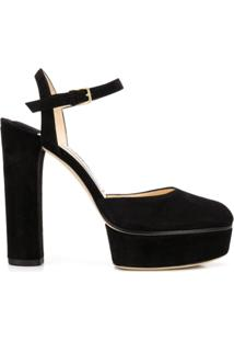 Jimmy Choo Scarpin Maple 125 - Preto