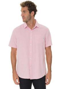 Camisa Timberland Pleasant River Oxford Regular Masculina - Masculino-Rosa