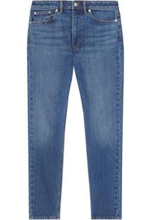 Burberry Calça Jeans Skinny Cropped - Azul
