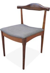 Cadeira Elbow Madeira Maciça Design By Hans Wegner