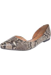 Sapatilha Dafiti Shoes Cobra Marrom