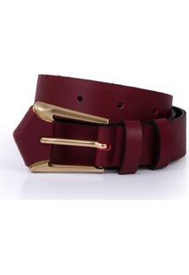 Cinto Cintura/Quadril Regular Color Vermelho
