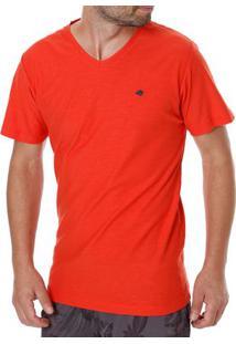 Camiseta Manga Curta Masculina Coral