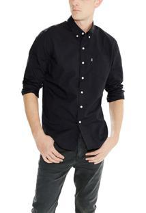 Camisa Levis Classic One Pocket Preto Preto