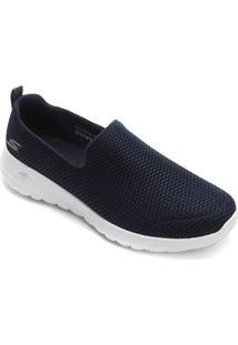 Tênis Skechers Go Walk Joy Feminino - Feminino-Azul Escuro